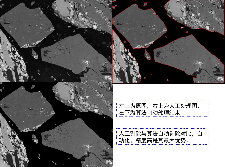 煤岩显微组分图像背景噪声自动识别与剔除