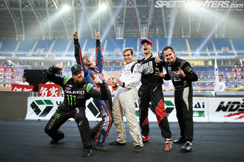 Drifting's Fab Five Take On China