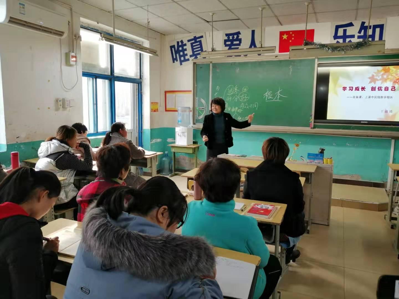 学习成长,创优自己——王淑清老师为我校教师进行培训