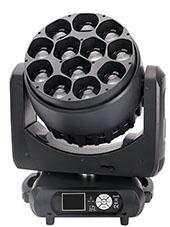 LED全彩调焦摇头染色灯