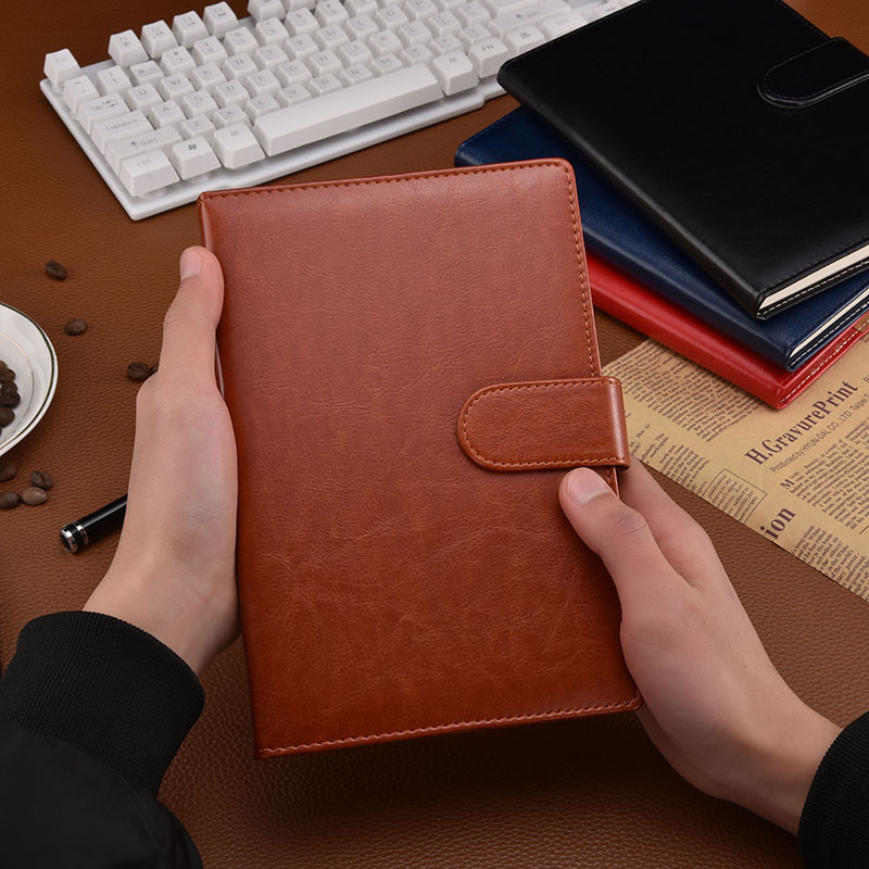 平装双包边加海绵加磁扣笔记本