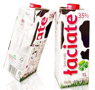 波兰进口Taciate蓝雀全脂牛奶1L