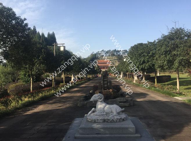 红枫艺术陵园神道