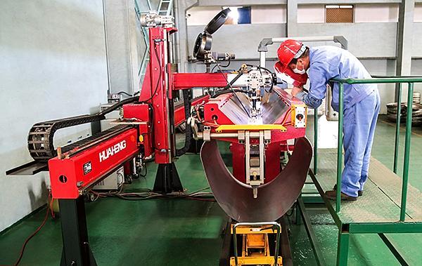 无负压供水设备全自动焊接系统
