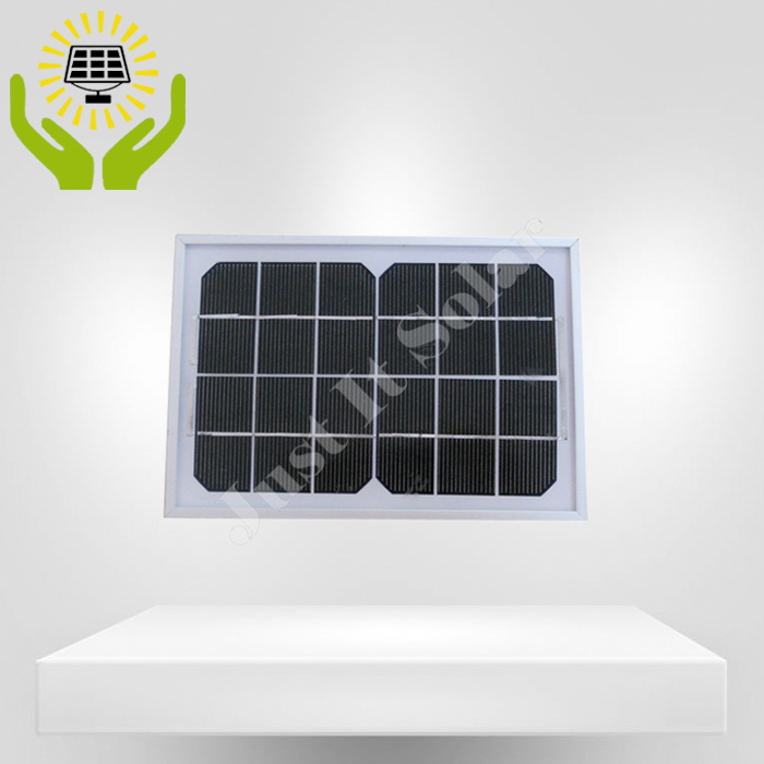 6V 3W Framed Glass Solar Panel