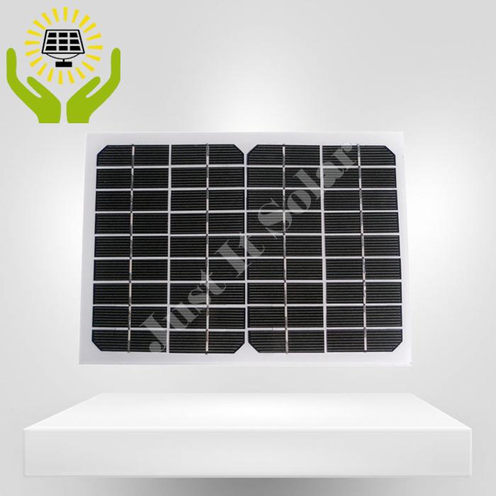 18V 6W Frameless Glass Solar Panel