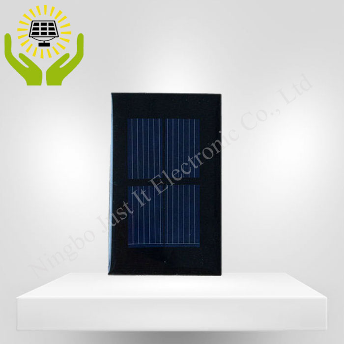 1V 200mA 75*46mm Polycrystalline Epoxy Resin Solar Panel