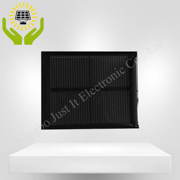 1V 500mA 75*60mm Epoxy Resin Small Solar Cell