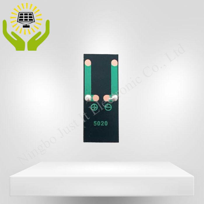 1V 80mA 50*20mm Epoxy Resin Mini Solar Panel