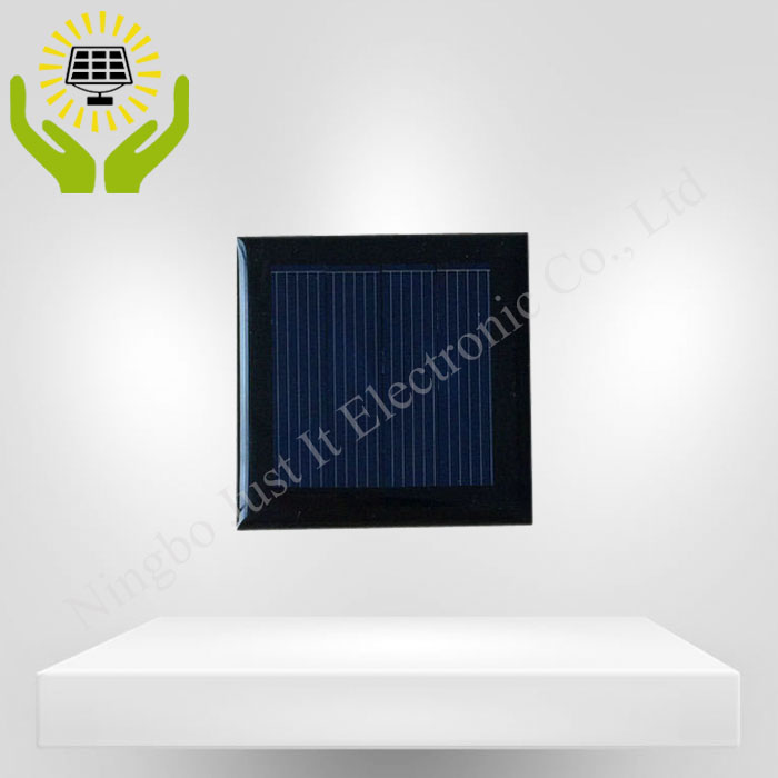 2V 100mA 50*50mm Polycrystalline Epoxy Solar Panel