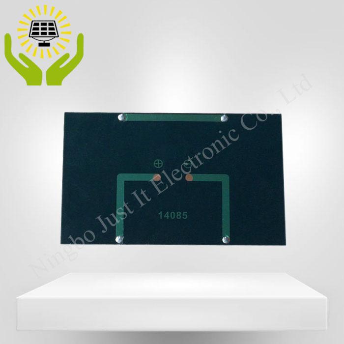 4V 375mA 1.5W 140*85mm Monocrystalline Epoxy Solar Panel
