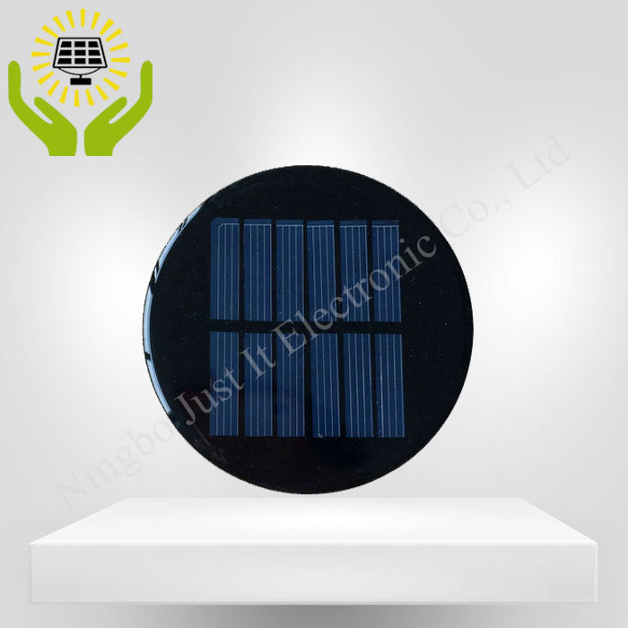 3V 200mA 0.6W Diameter 100mm Epoxy Round Solar Cell