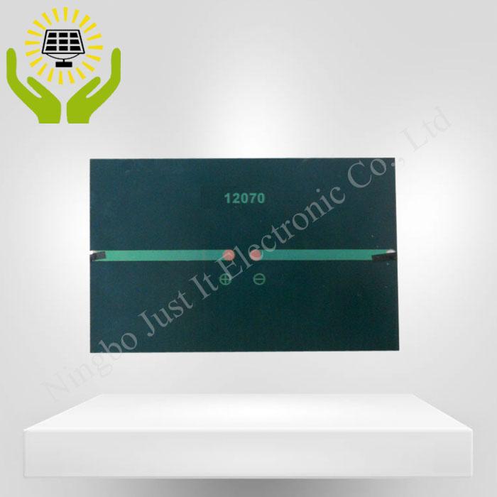 6V 1W 120*70mm Monocrystalline Epoxy Mini Solar Panel