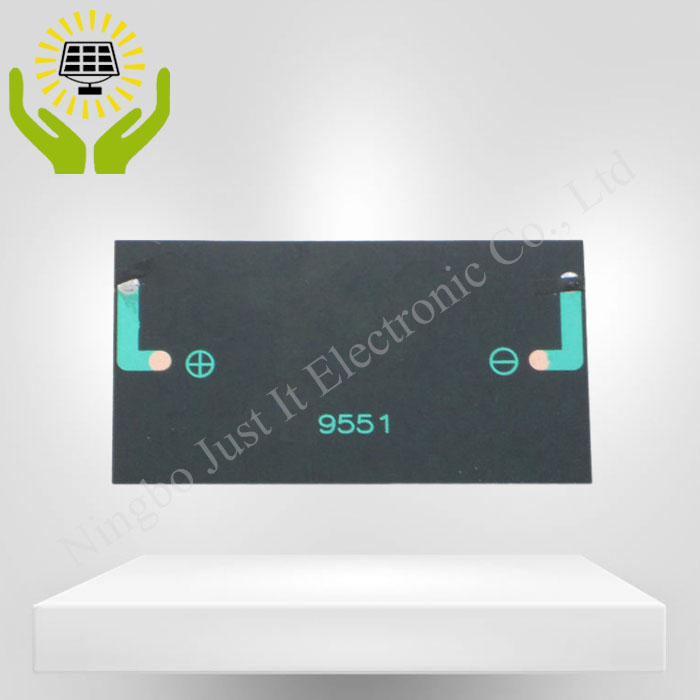 6V 70mA 95*51mm Monocrystalline Epoxy Solar Cell