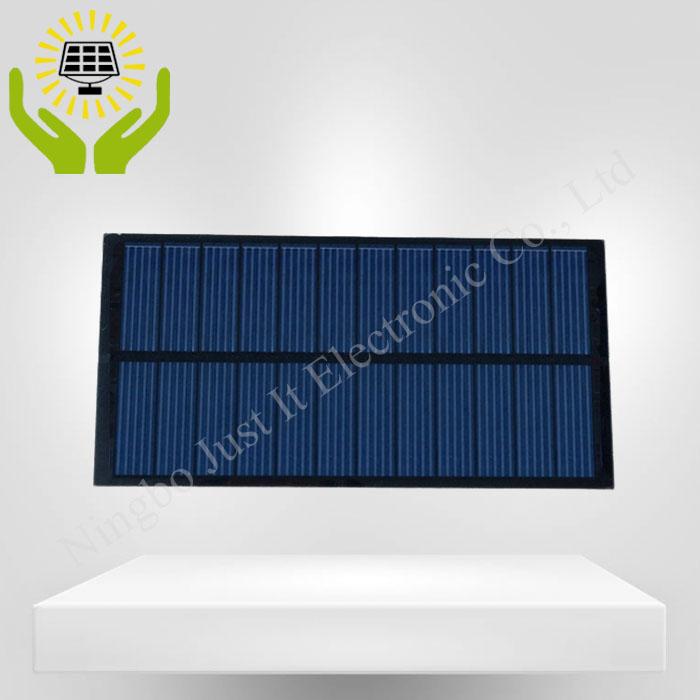 6V 340mA 2W 180*90mm Poly PET Laminated Solar Panel