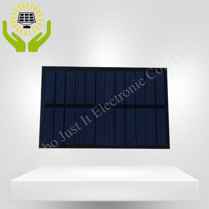 6V 250mA 1.5W 140*90mm Polycrystalline PET Solar Module