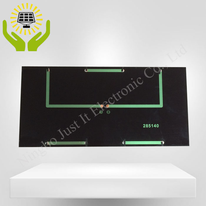18V 4W 285*140mm Monocrystalline Epoxy Solar Panel
