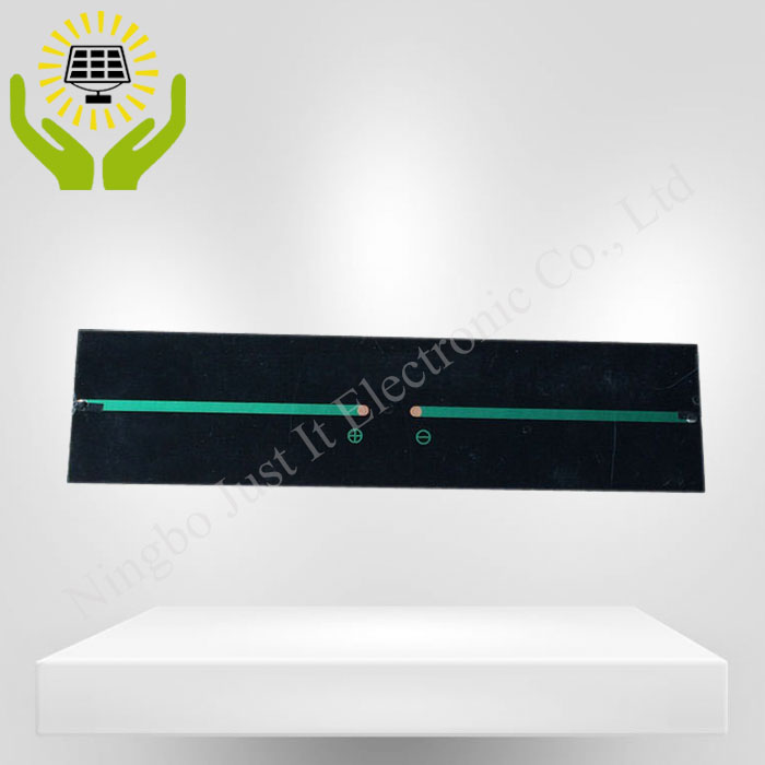 9V 200mA 1.8W 240*60mm Small Size PET Solar Panel