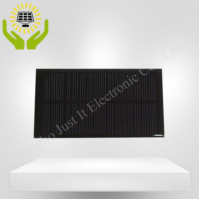 8V 125mA 1W 125*70mm Epoxy Mini Solar Panel