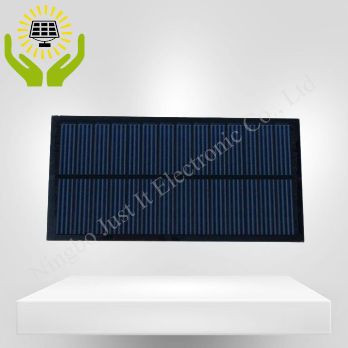 7V 280mA 2W 180*90mm Poly PET Solar Panel