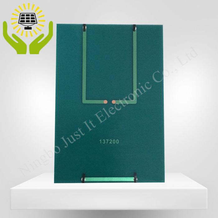 18V 200mA 3.6W 137*200mm Monocrystalline PET Laminated Solar Panel