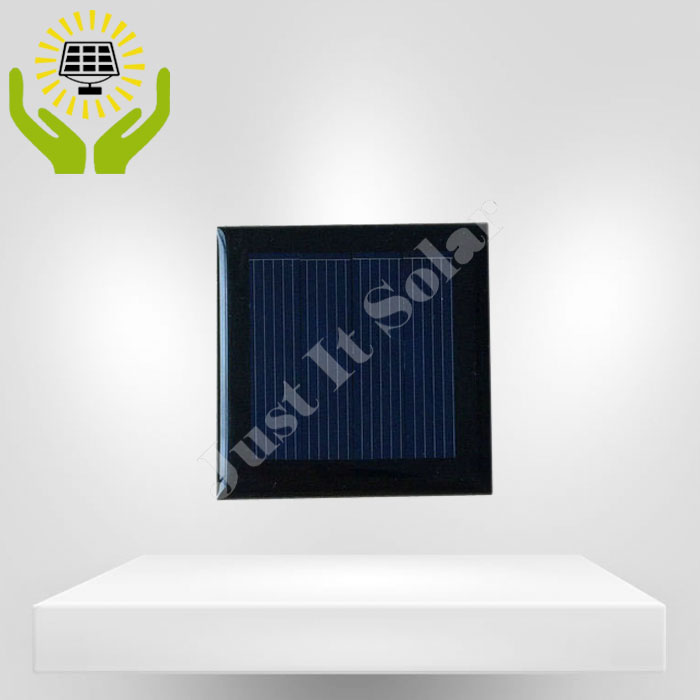 2V 100mA 50*50mm Polycrystalline Epoxy Solar Panel
