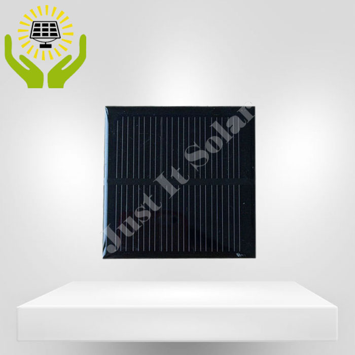2V 300mA 70*70mm Monocrystalline Mini Solar Panel