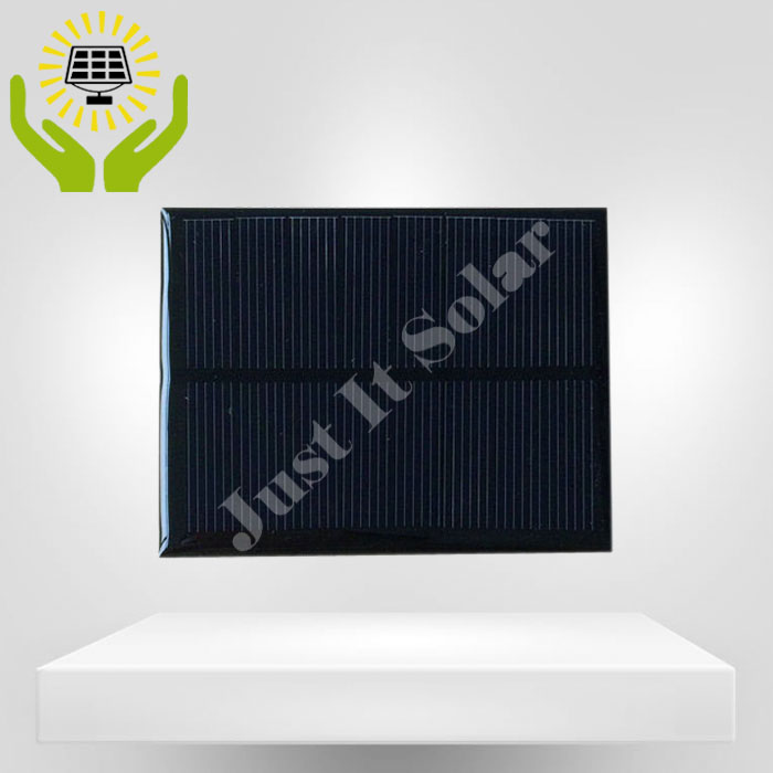 4V 200mA 90*70mm Small Monocrystalline Solar Cell