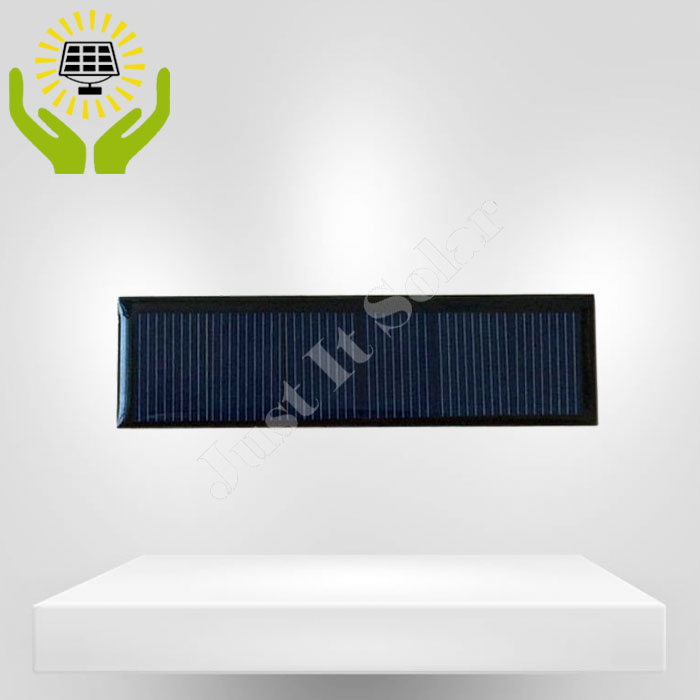 3V 100mA 100*28mm Polycrystalline Epoxy Mini Solar Panel