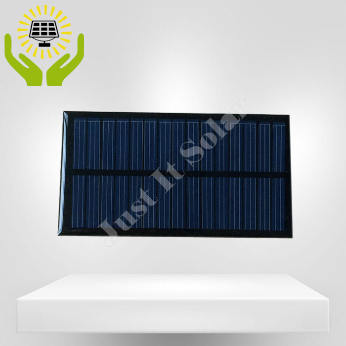 7.5V 100mA 110*60mm Polycrystalline Epoxy Small Solar Cell