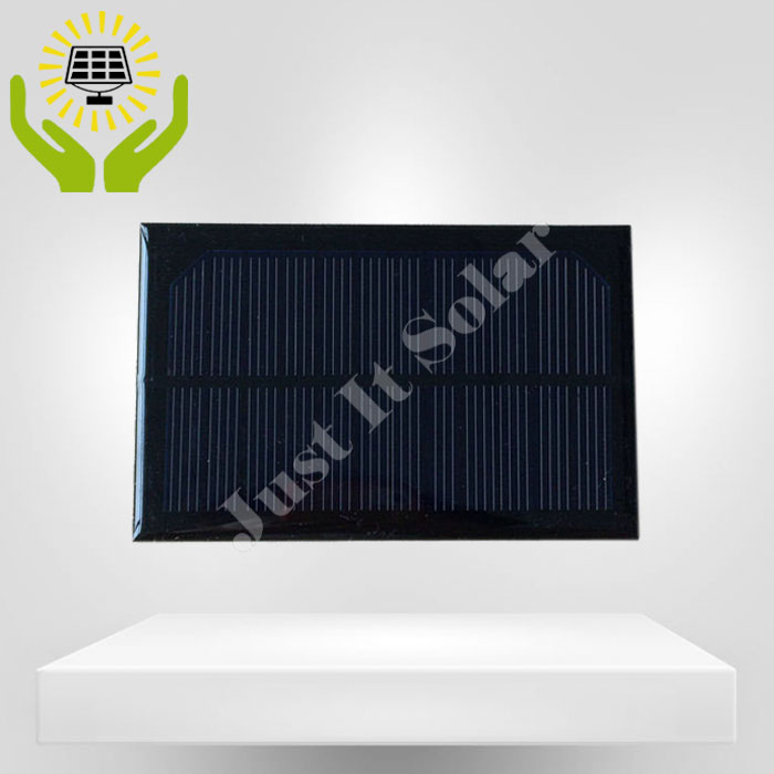 6V 1W 120*77mm Monocrystalline Epoxy Mini Solar Panel