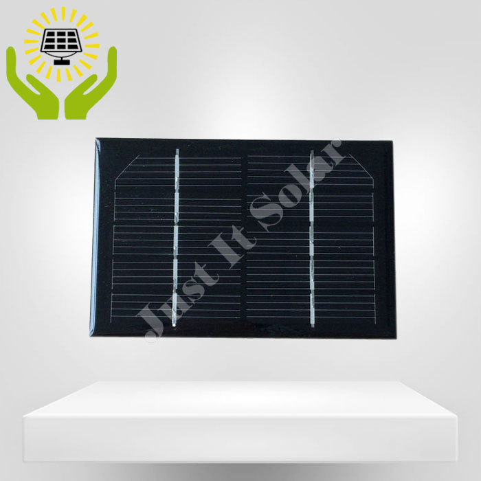 5V 200mA 1W 120*80mm Monocrystalline Epoxy Mini Solar Cell