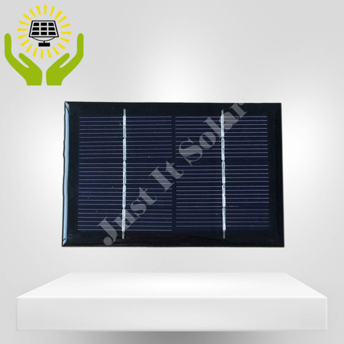 5V 240mA 1.2W 120*90mm Polycrystalline Epoxy Solar Panel
