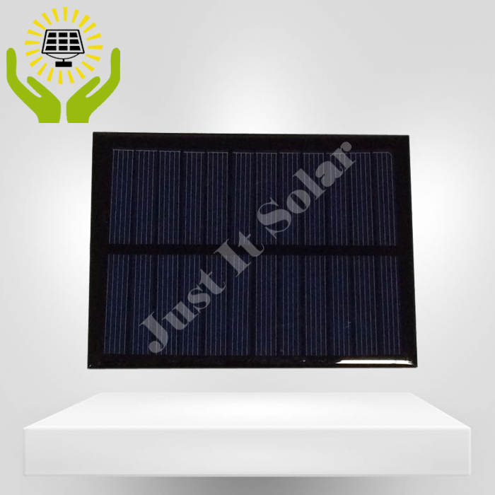 6V 200mA 1.2W 120*90mm Polycrystalline Epoxy Solar Panel