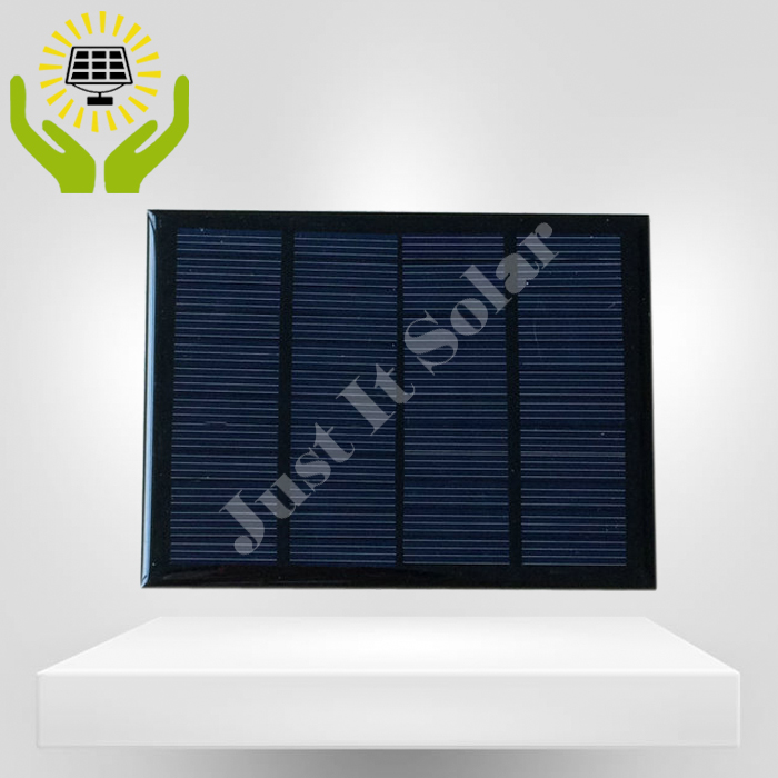 12V 100mA 1.2W Polycrystalline Epoxy Mini Solar Panel
