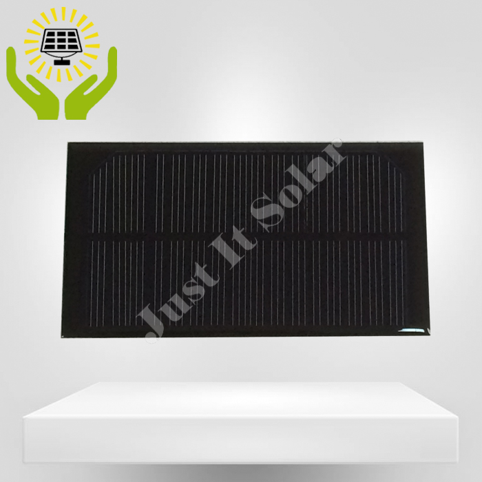 8V 125mA 1W 125*70mm Epoxy Mini Solar Panel