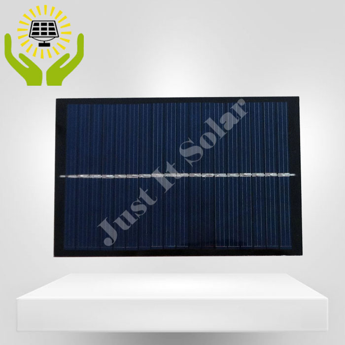 9V 150mA 1.35W 130*85mm Polycrystalline PET Solar Panel