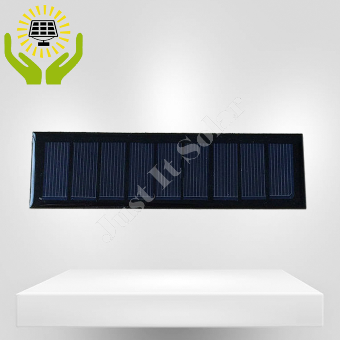 4.5V 100mA 0.45W 140*40mm Epoxy Mini Solar Panel