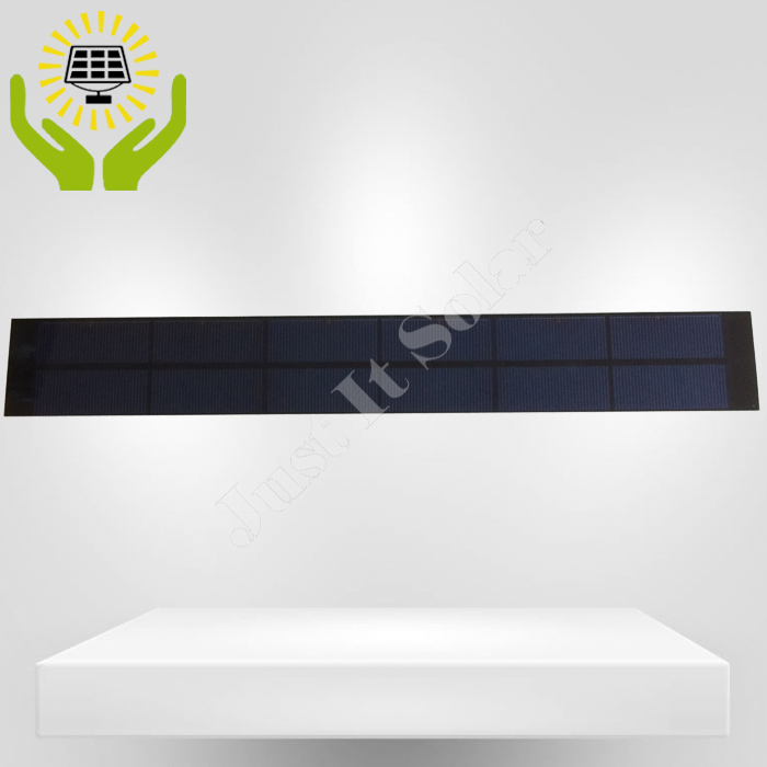 3V 1A 3W 400*55mm Small Size PET Solar Panel