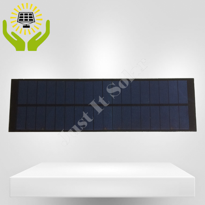 9V 360mA 3.2W 290*85mm Poly PET Solar Panel