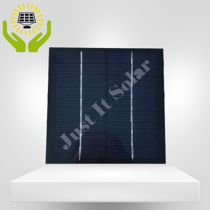 9V 200mA 1.8W 125*125mm PET Laminated Small Solar Cell
