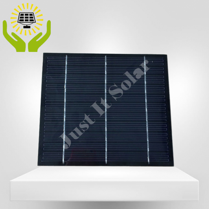 5.5V 600mA 3.2W 166*146mm PET Laminated Small Solar Cell