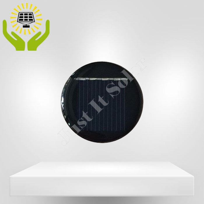2V 40mA Diameter 36mm Epoxy Round Mini Solar Cell