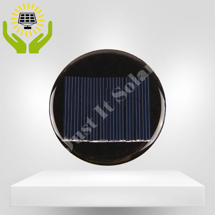 5V 50mA Diameter 68mm Epoxy Round Mini Solar Panel