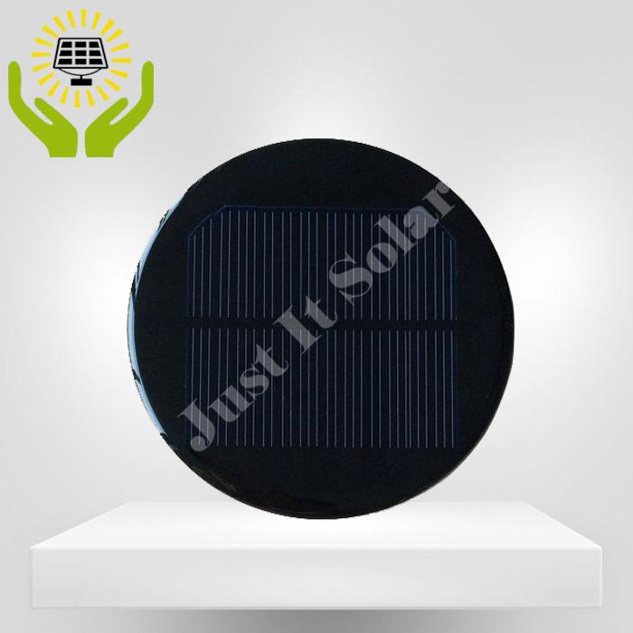 6V 100mA 0.6W 100mm Round Epoxy Solar Panel