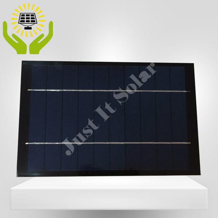 5V 1A 5W 170*230mm Polycrystalline PET Laminated Solar Panel
