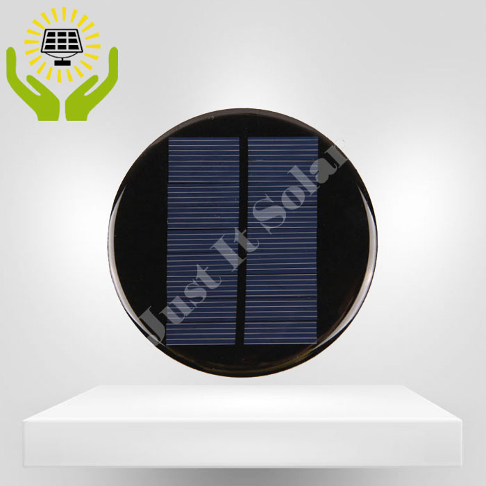 4.5V 140mA Diameter 94mm Epoxy Mini Circular Solar Panel