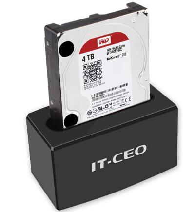 IT-CEO IT-171 USB3.0移动硬盘座 黑色