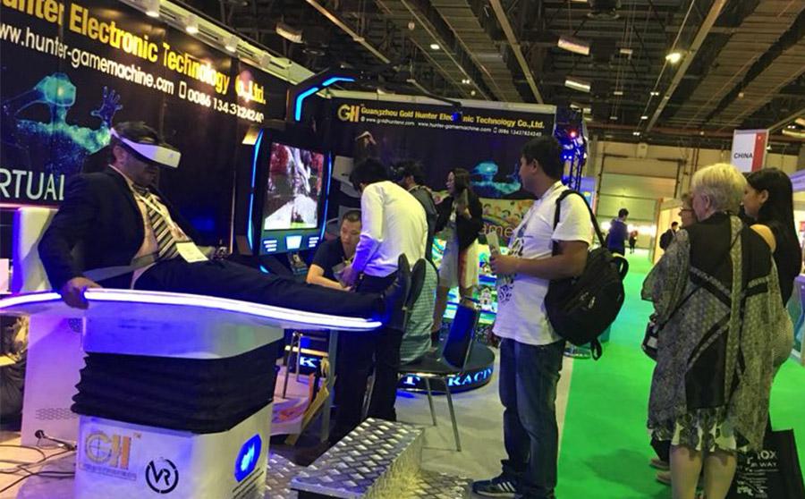 猎金VR新品亮相迪拜 创新VR设备引领行业潮流