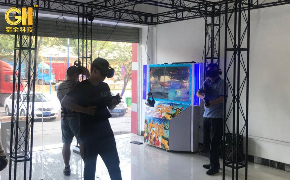 2018新款极战先锋VR-HERO大空间CSVR游戏设备,9DVR体验馆新VR设备